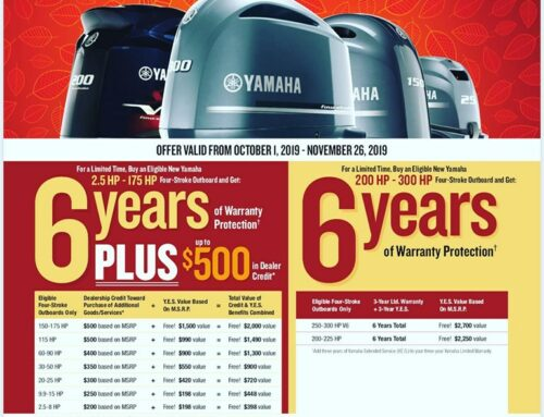 Yamaha Outboard Special