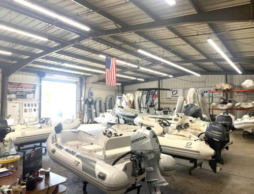 Plenty of inventory for you Summer of FUN at the Dinghy Doctor!