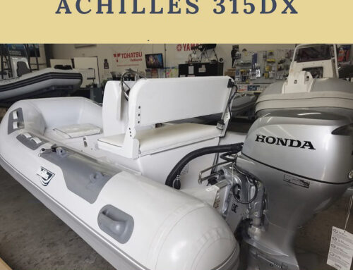 Our Dinghy of the Week is the Achilles 315DX!