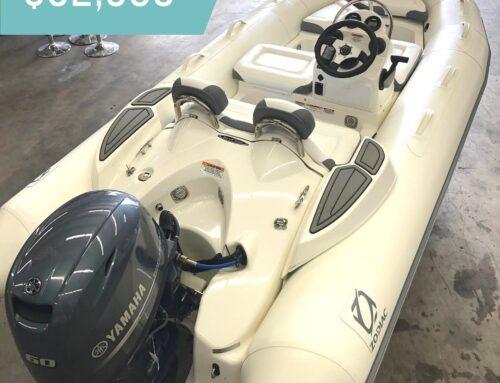 AVAILABLE NOW: Zodiac Yachtline 440 with Yamaha 60hp